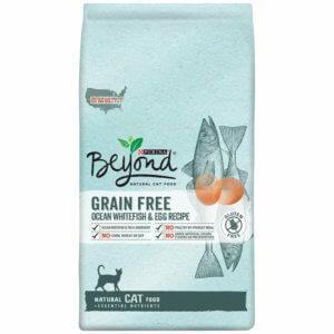Purina Beyond Natural Grain Free Ocean Whitefish & Egg Recipe