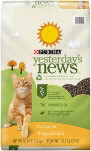 Purina Yesterday's News Original Paper Pellet Unscented Cat Litter