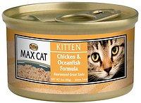 Nutro Max Kitten Chicken & Oceanfish Formula Canned Cat Food