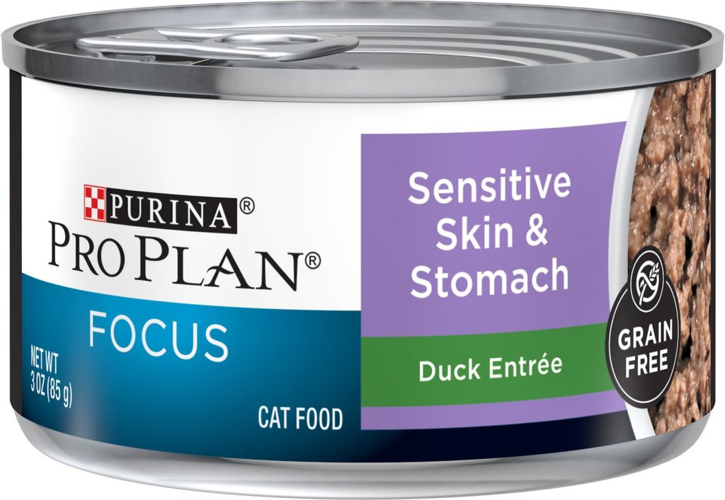 Purina Pro Plan Focus Sensitive Skin & Stomach Cat Food