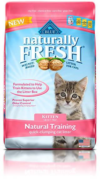 BLUE Naturally Fresh Kitten Training Quick-Clumping Cat Litter