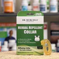 Dr. Mercola Herbal Flea, Tick & Mosquito Repellent Collar for Cat