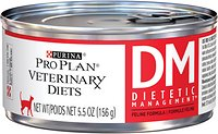 Purina Veterinary Diets DM Dietetic Management For Cats