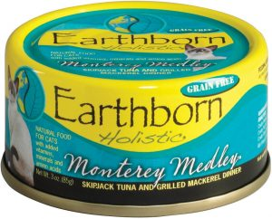 Earthborn Holistic Monterey Medley Natural Canned Cat & Kitten Food