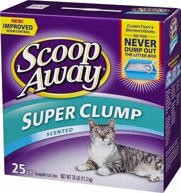 Scoop Away Super Clump Cat Litter