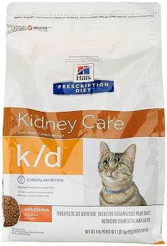 HILL'S Prescription Diet K/D Adult Cat Food w/ Chicken