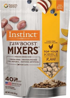Instinct Raw Boost Mixers Chicken Recipe Freeze-Dried Cat Food