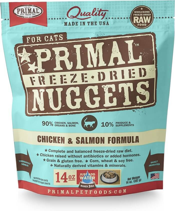 Primal Freeze-Dried Nuggets Raw Cat Food