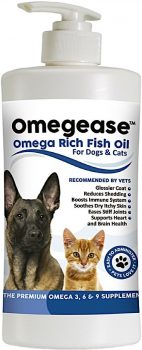 Finest for Pets Omegease Omega-Rich Fish Oil
