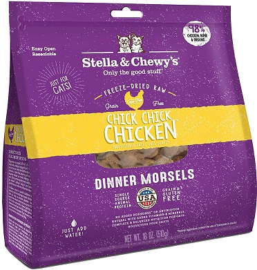 Stella & Chewy's Freeze-Dried Cat Food