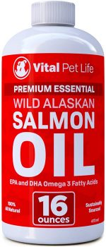 Vital Pet Life Salmon Oil for Dogs & Cats