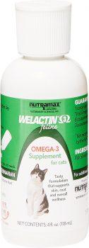 Nutramax Welactin Feline Omega-3 Cat Liquid Supplement