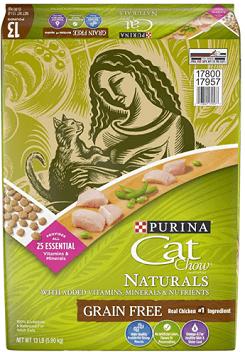 Purina Cat Chow Naturals Grain Free Cat Food