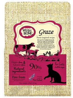 Wishbone Graze Grain-Free Dry Cat Food